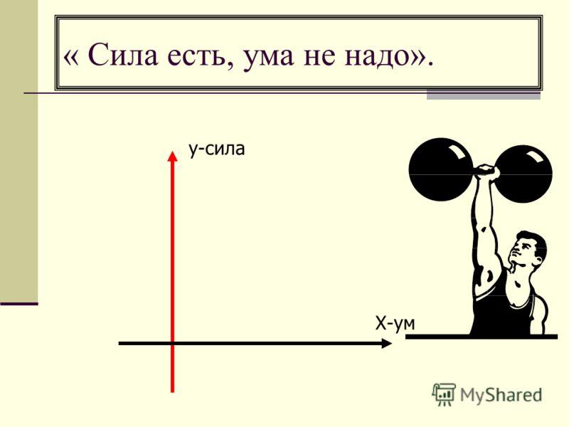 ум сила: