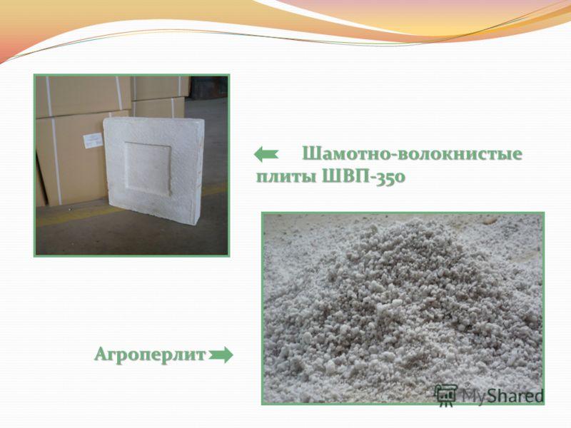Шамотно-волокнистые плиты ШВП-350 Шамотно-волокнистые плиты ШВП-350 Агроперлит