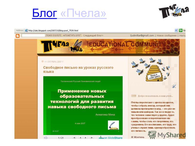 10.12.08 Блог «Пчела» «Пчела»
