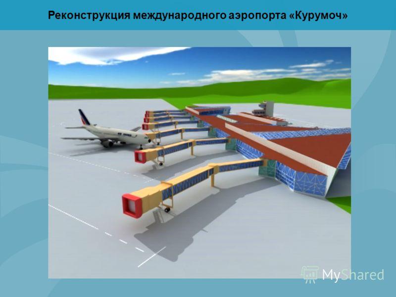 Реконструкция международного аэропорта «Курумоч»