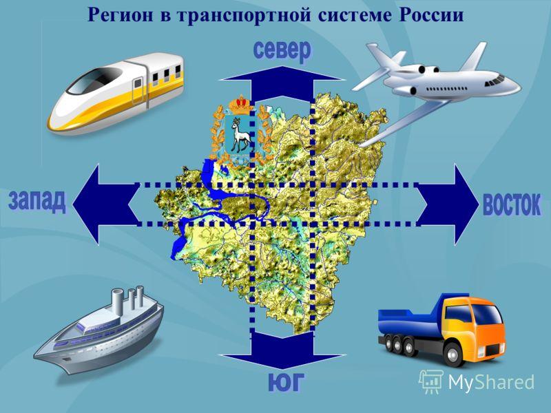 Регион в транспортной системе России