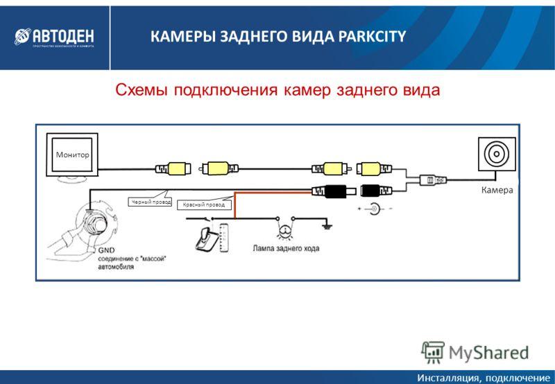 Схемы подключения камер
