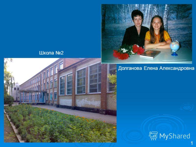 Долганова Елена Александровна 1 Школа 2