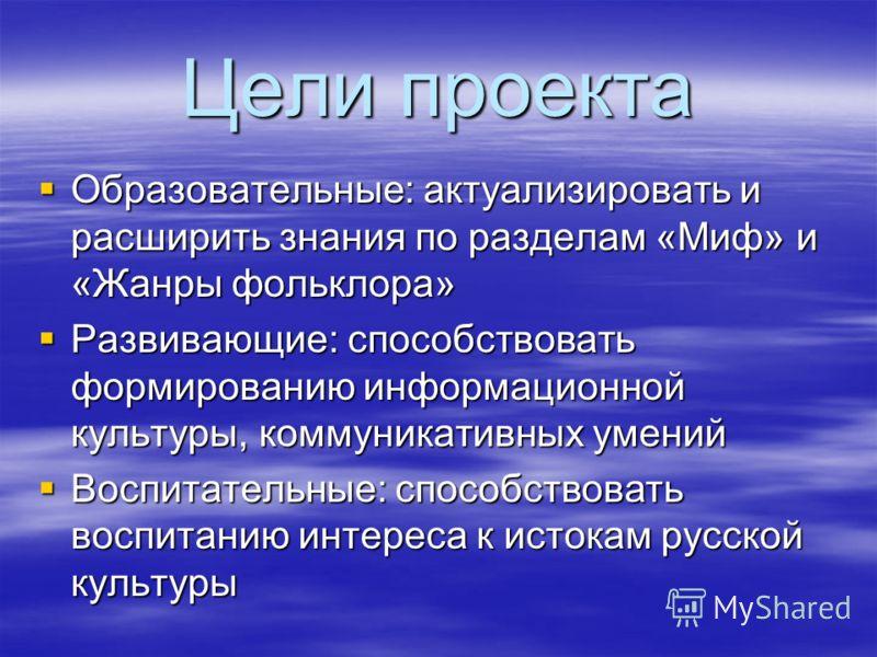 Контекст проекта Информационный проект 1-4 класс. Система Л. В. Занкова Литературное чтение Долгосрочный