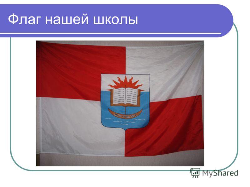 Флаг нашей школы