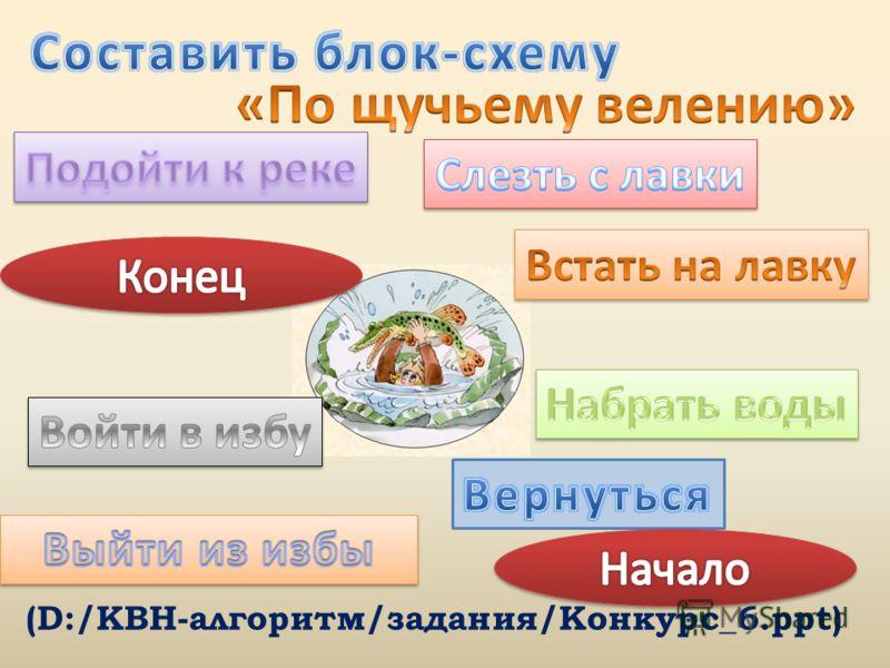 (D:/КВН-алгоритм/задания/Конкурс_6.ppt)