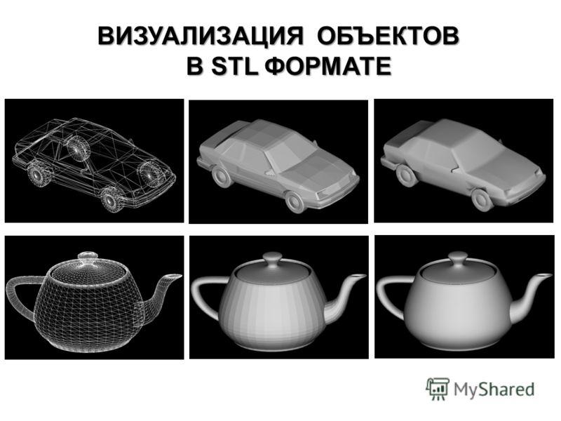 ВИЗУАЛИЗАЦИЯ ОБЪЕКТОВ В STL ФОРМАТЕ