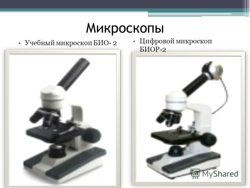 Микроскопы Учебный микроскоп БИО- 2 Цифровой микроскоп БИОР-2