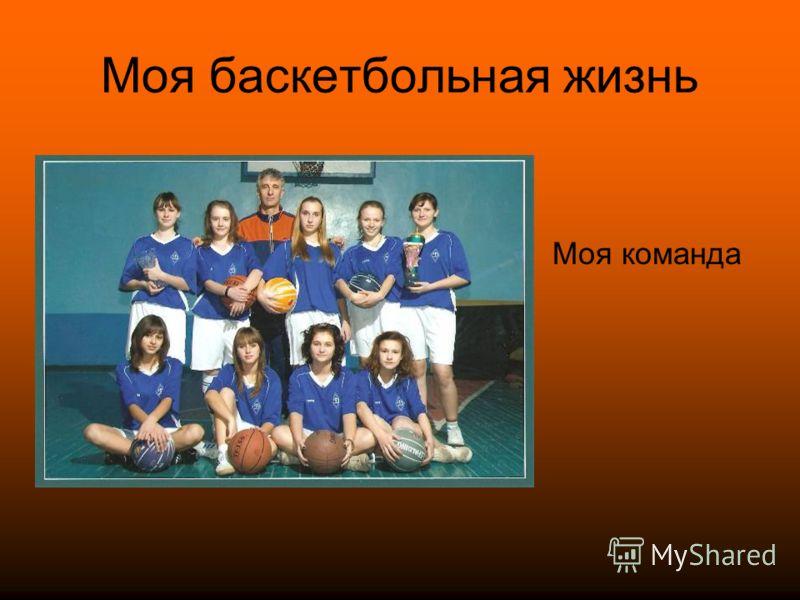 Моя баскетбольная жизнь Моя команда