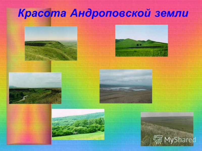Красота Андроповской земли