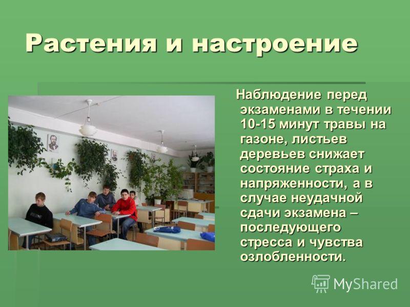 Общение человека и растений выполнила