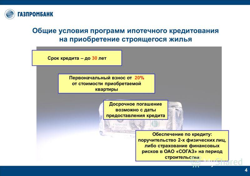 3 Заемщиком может быть гражданин РФ, имеющий регистрацию в местах расположения филиалов Банка Возраст заемщика - от 20 лет Общий трудовой стаж заемщика – не менее 1 года Трудовой стаж на последнем месте работы - не менее 6 месяцев Общий трудовой стаж