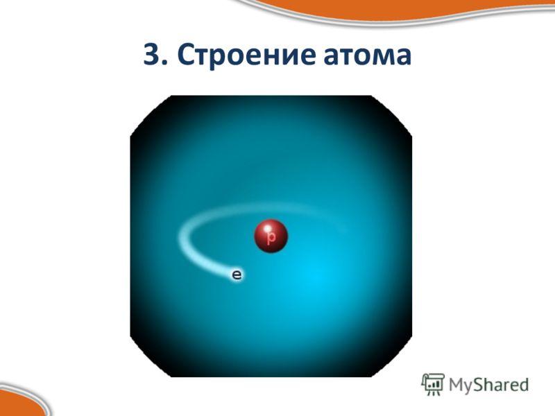 3. Строение атома