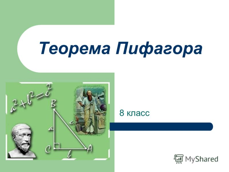 Теорема Пифагора 8 класс