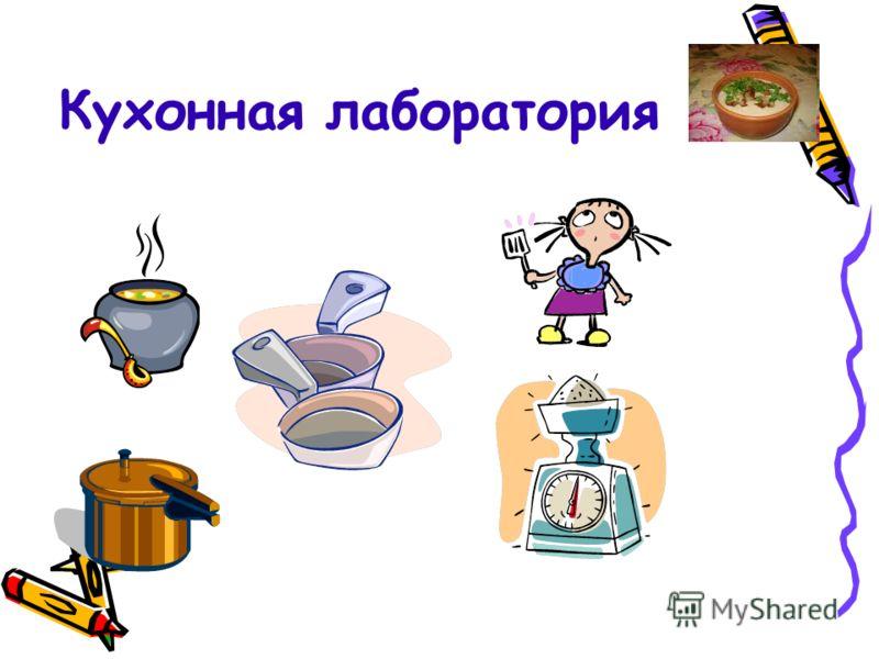 Кухонная лаборатория