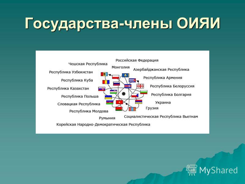 Государства-члены ОИЯИ