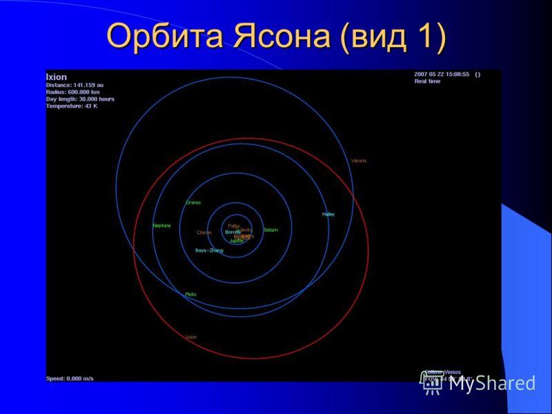 Орбита Ясона (вид 1)