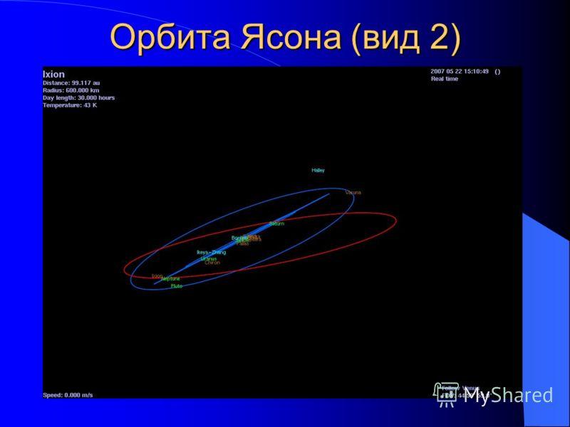 Орбита Ясона (вид 2)