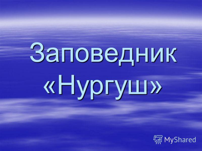Заповедник «Нургуш»