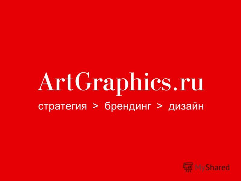 стратегия > брендинг > дизайн