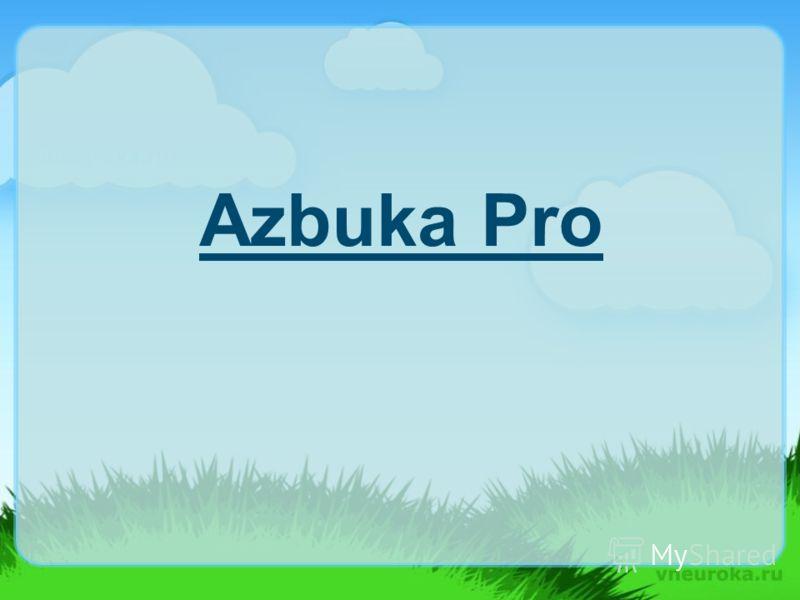Azbuka Pro