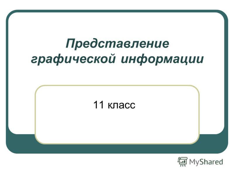 Представление графической информации 11 класс А15