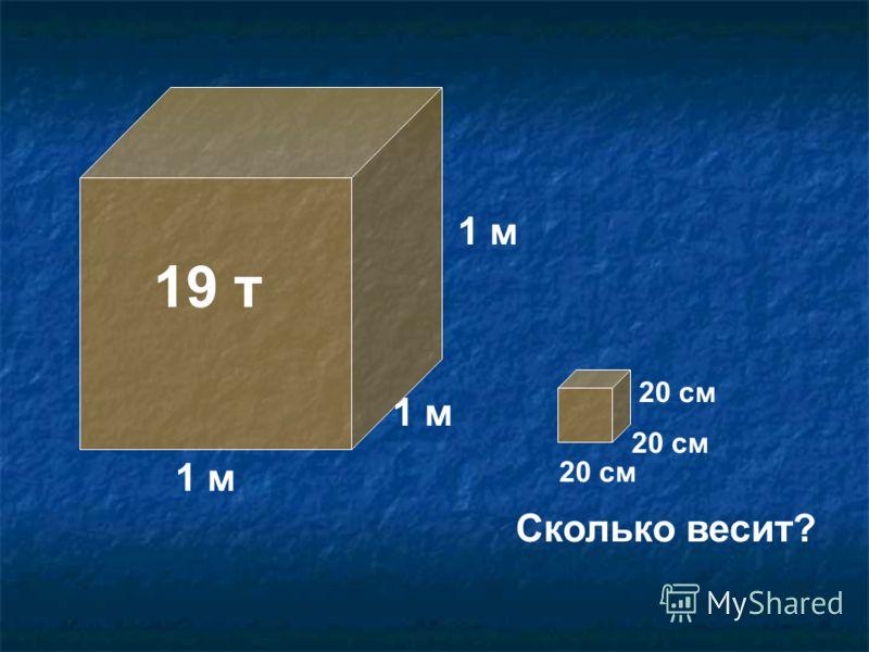 1 м 19 т 1 м 20 см Сколько весит?