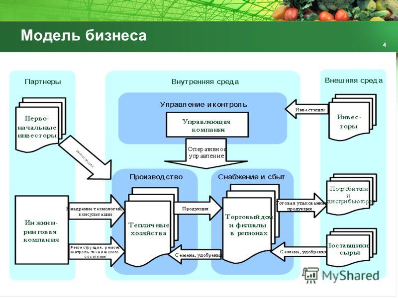 Модель бизнеса 4