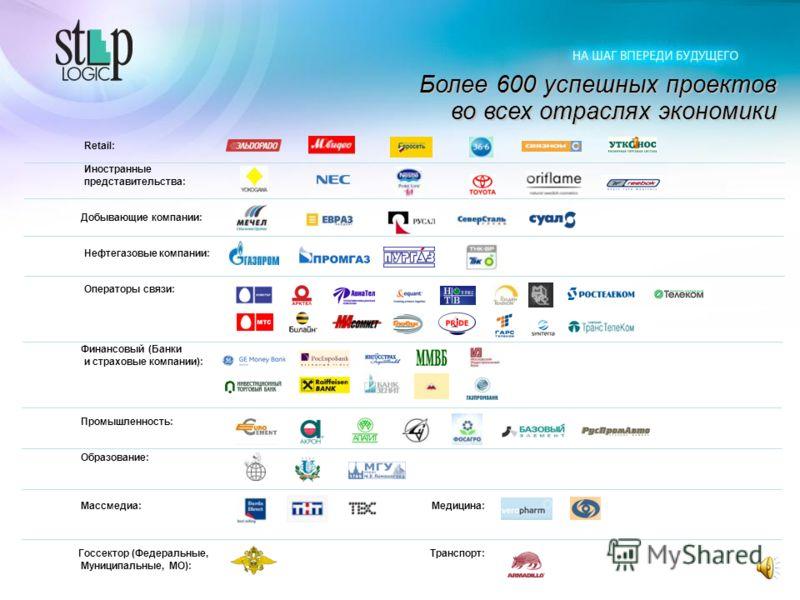 Вендоры Step Logic – мировые лидеры ИТ индустрии