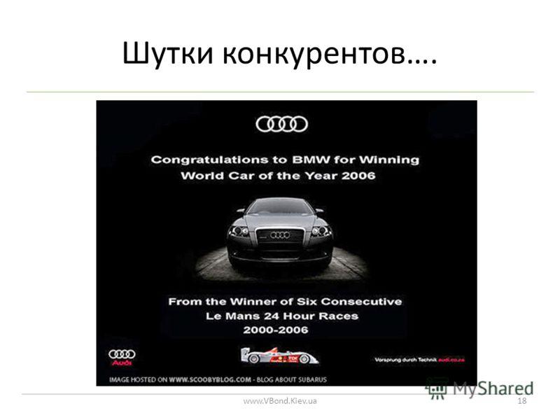 Шутки конкурентов…. www.VBond.Kiev.ua18