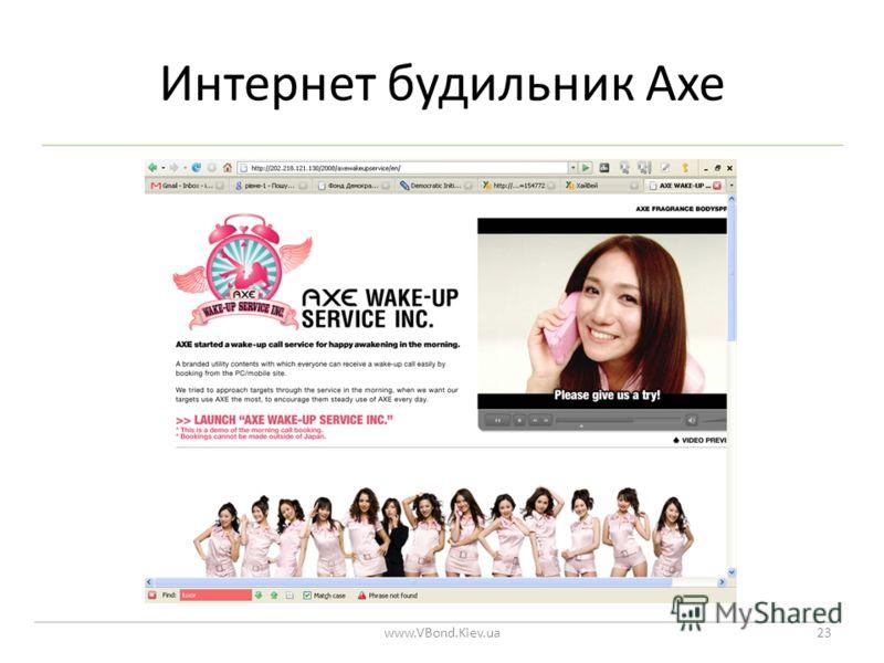 Интернет будильник Axe www.VBond.Kiev.ua23