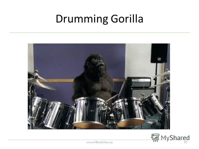 Drumming Gorilla www.VBond.Kiev.ua35