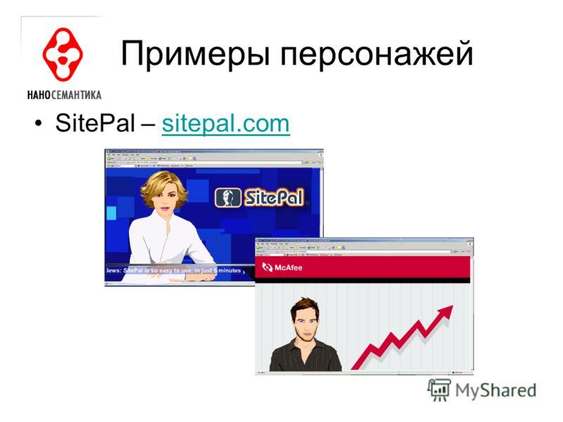 Примеры персонажей SitePal – sitepal.comsitepal.com