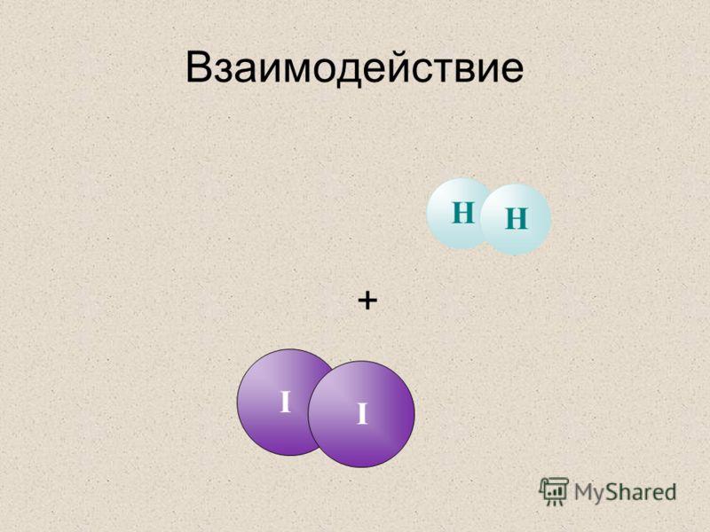 Взаимодействие + II HH
