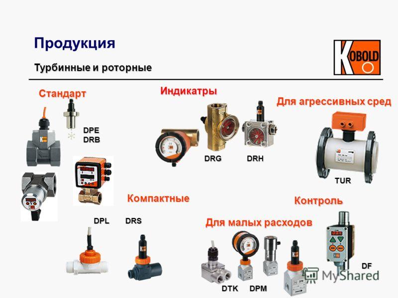 Продукция Турбинные и роторные Стандарт Компактные Компактные DF Контроль Контроль DPE DRB DRG DRH TUR DTK DPM Для малых расходов Для малых расходов Для агрессивных сред Для агрессивных сред DPL DRS Индикатры