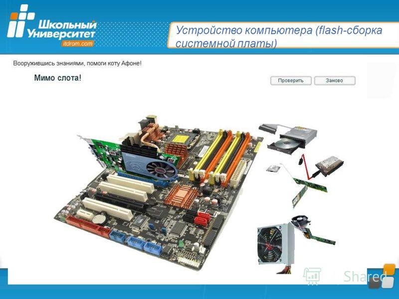 Устройство компьютера (flash-сборка системной платы)