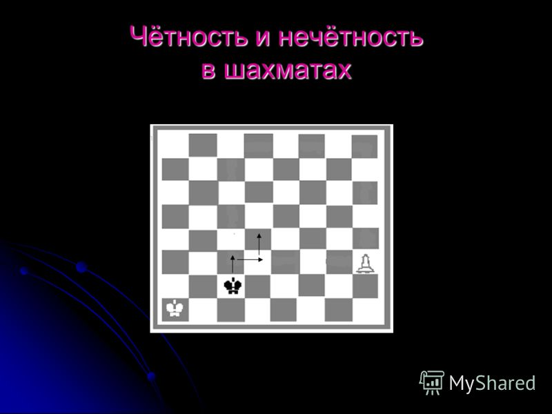 Чётность и нечётность в шахматах