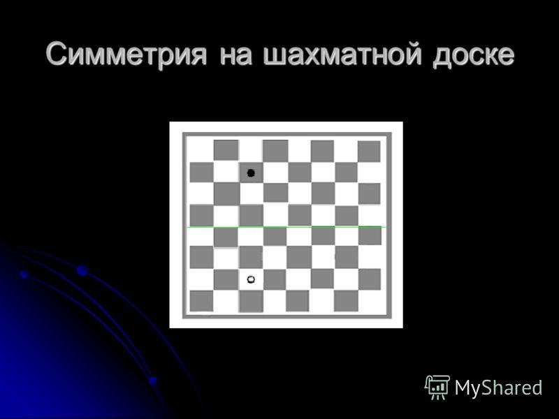 Симметрия на шахматной доске