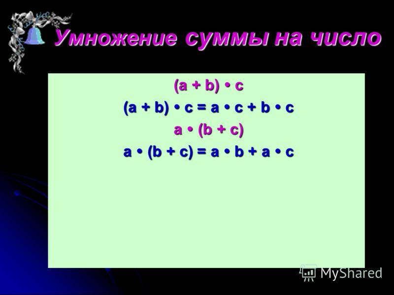 Если один из множителей равен 0, то произведение равно 0. a 0 = 0 a 0 = 0 0 a = 0 0 a = 0 Если один из множителей равен 1, то произведение равно другому множителю Если один из множителей равен 1, то произведение равно другому множителю а 1 = а а 1 =