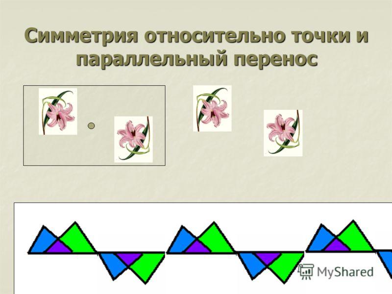 Симметрия относительно точки и параллельный перенос