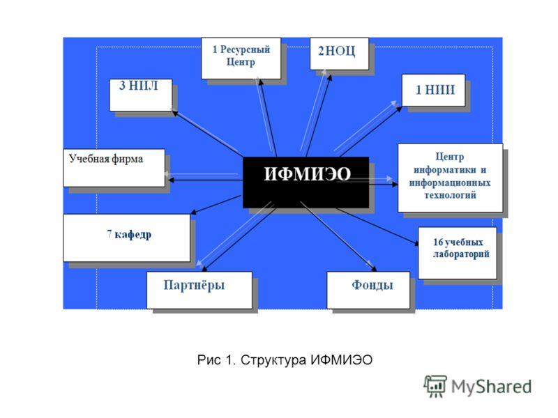 Рис 1. Структура ИФМИЭО