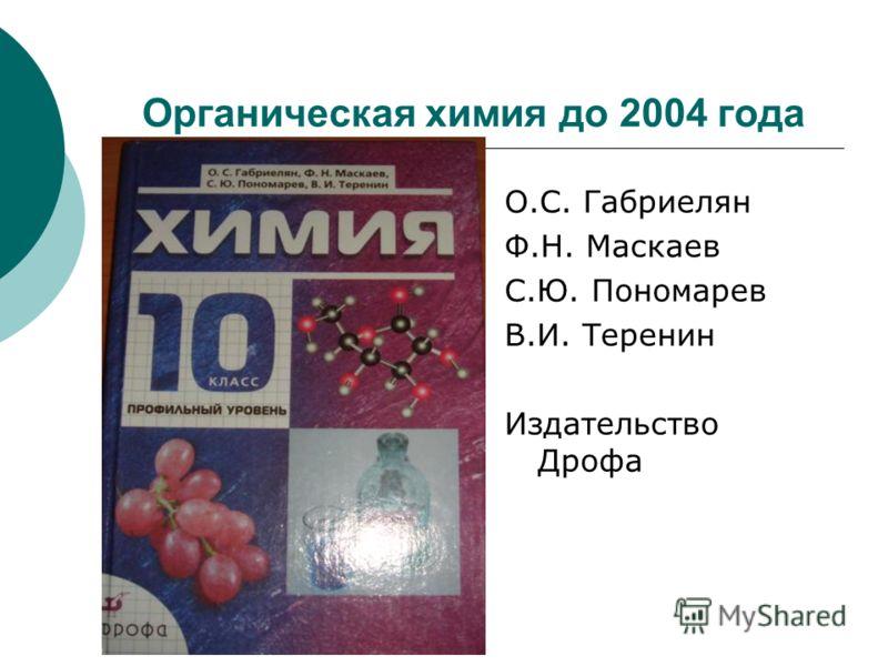 Готовые практические работы по химии 10 класс.профильный уровень о.с.габриелян ф.н.маскаев с.ю.пономарев в и теренин.дрофа
