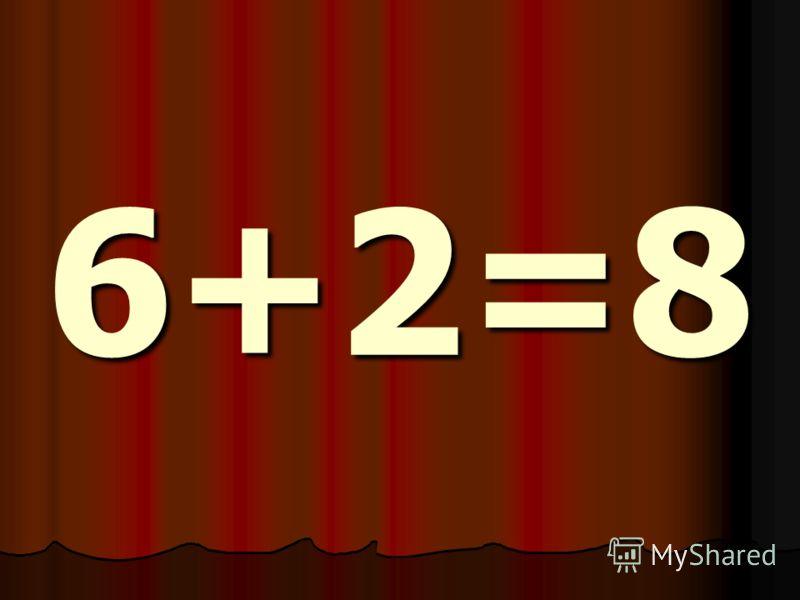6+2=8