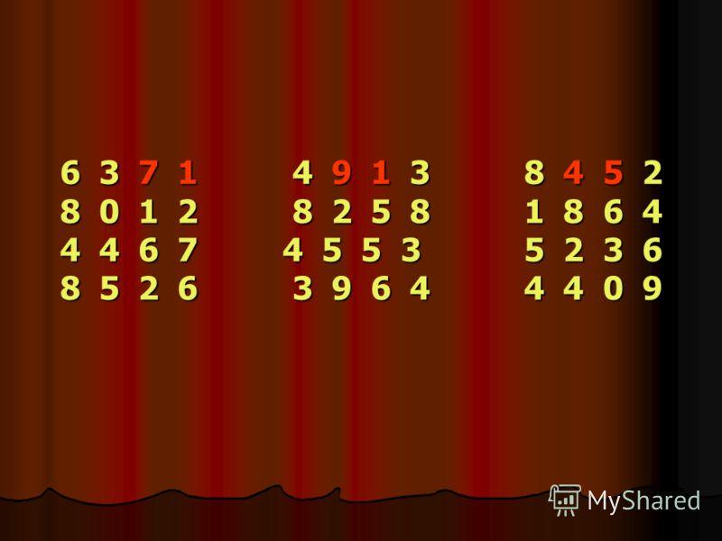 6 3 7 1 4 9 1 3 8 4 5 2 8 0 1 2 8 2 5 8 1 8 6 4 4 4 6 7 4 5 5 3 5 2 3 6 8 5 2 6 3 9 6 4 4 4 0 9