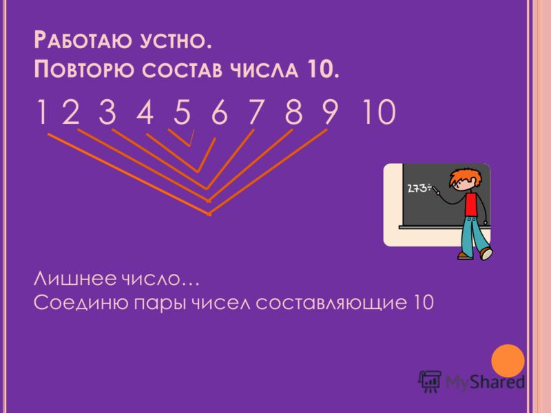 Состав Числа 8 Презентация