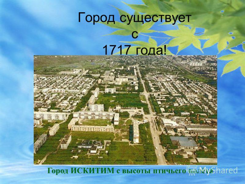 Город существует с 1717 года! Город ИСКИТИМ с высоты птичьего полёта