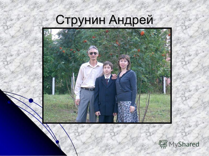 Струнин Андрей