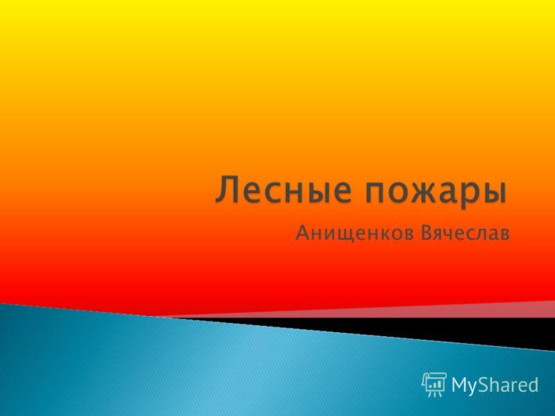 Анищенков Вячеслав