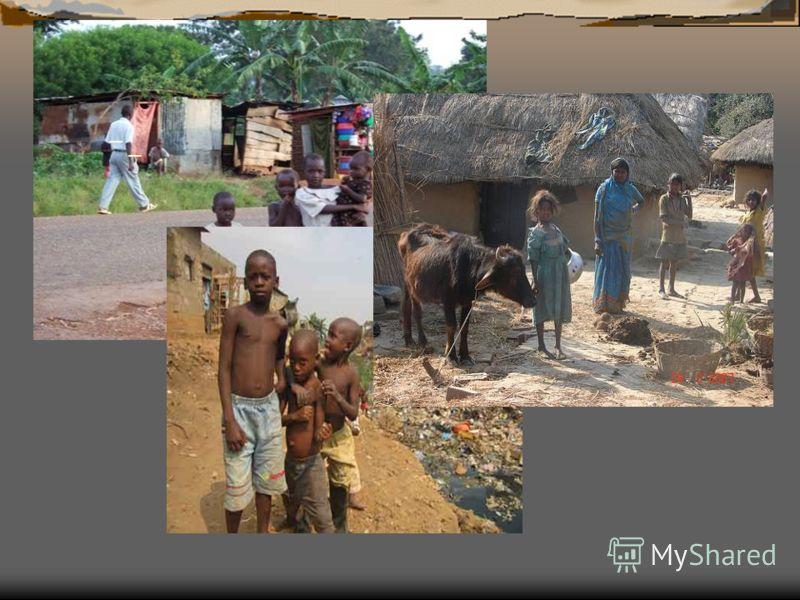 Но, к несчастью, до сих существует огромное количество слаборазвитых стран: Бутан,Бангладеш,Кирибати,Ботсвана, Вануату,Гаити,Бенин,Лесото,Танзани я,Мавритания,Того,Зап.Самоа,Буркин а- Фасо,Малави,Уганда,Йемен,Тувалу,Бу рунди,Мали,ЦАР,Лаос,Гамбия,Моза