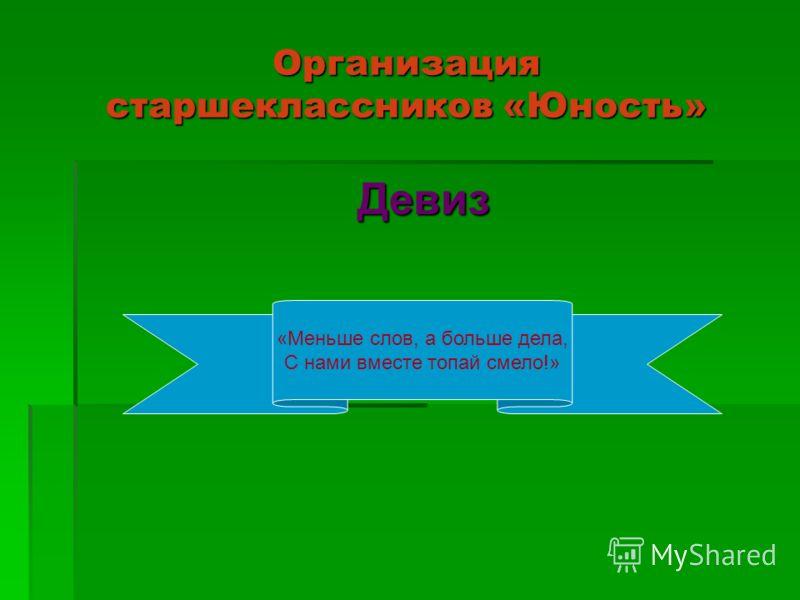 В пионерскую организацию «СМИД» входят 5-8 классы: 5 класс – отряд «Романтики»; 6 класс – отряд «Бригантина»; 7 класс – отряд «Улыбка»; 8 класс – отряд «Огонёк».